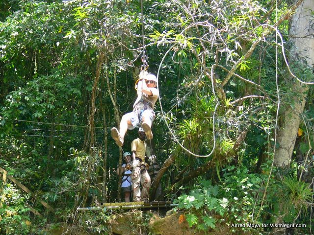 Zip Line Tours from Negril Jamaica